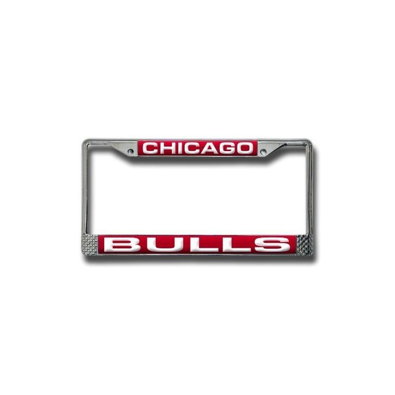 Increíble Chicago Bulls Marco De La Matrícula Ornamento - Ideas de ...