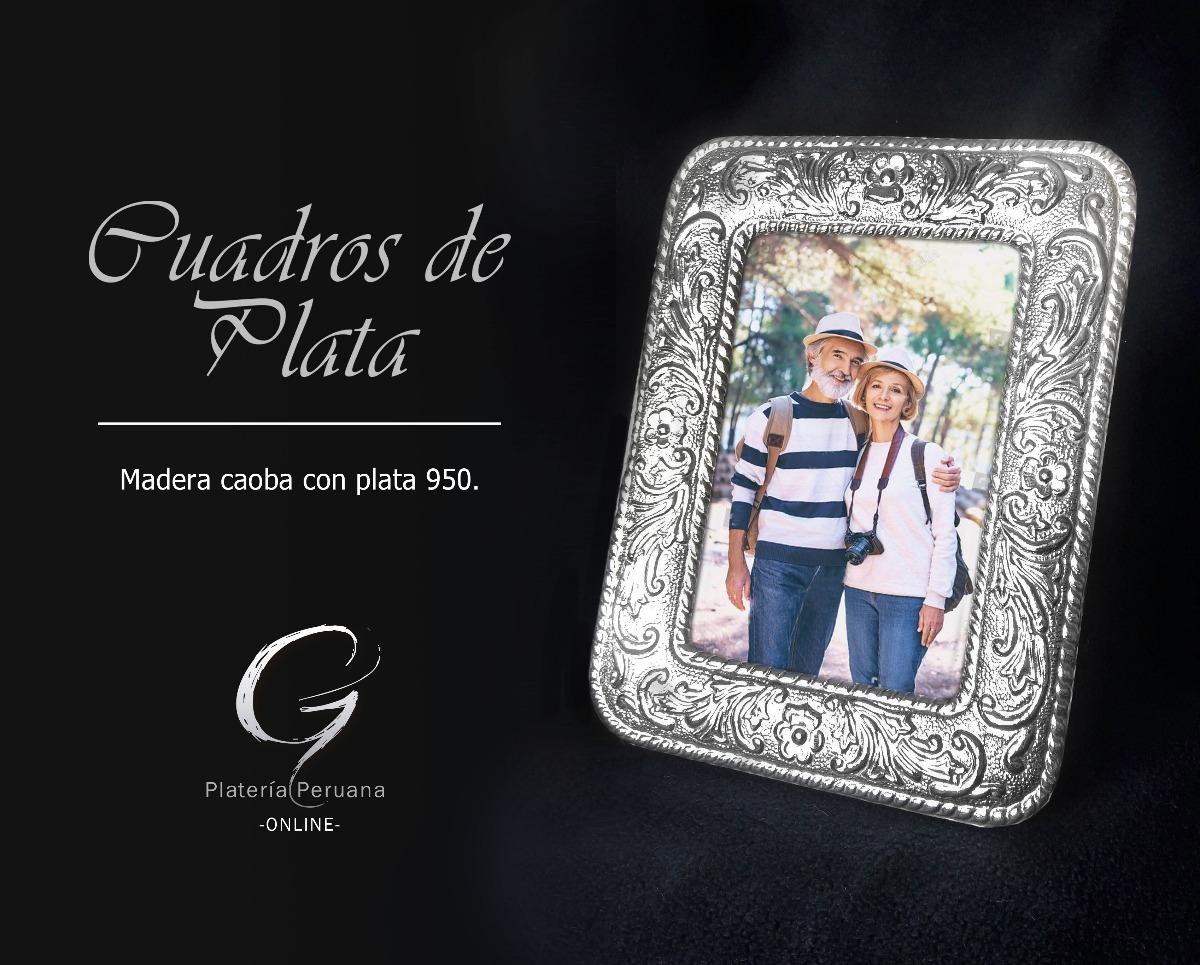 Marco De Plata 950 Boda - Nuevos - S/ 180,00 en Mercado Libre