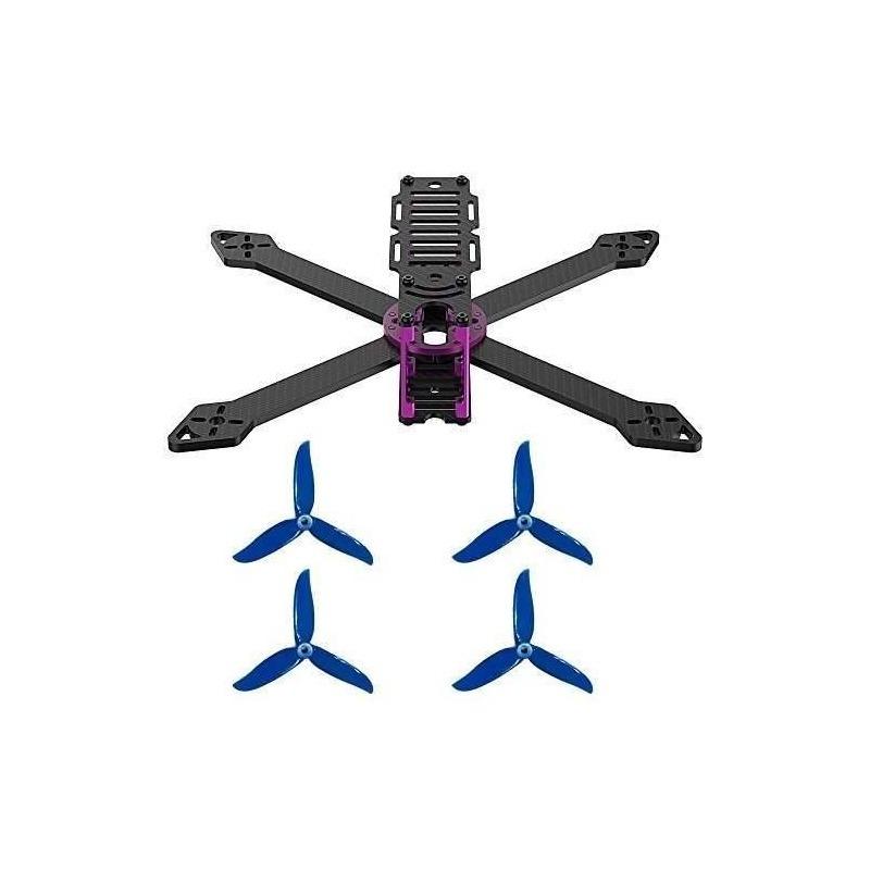 Marco De Quadcopter De La Fibra De Carbono Del Abejón De Com ...