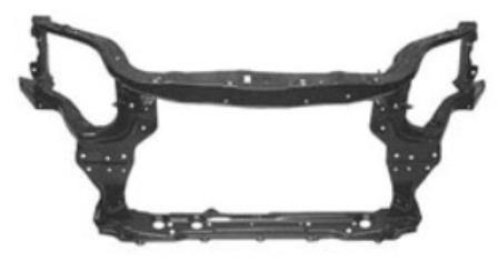 marco de radiador aveo sedan 4 puertas 2007 - 2010