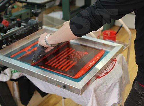 marco de serigrafia madera 20x30 cm 62t malla abierta