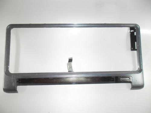 marco de teclado para notebook hp pavilion dv4 plateado