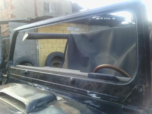 marco de vidrio jeep cj