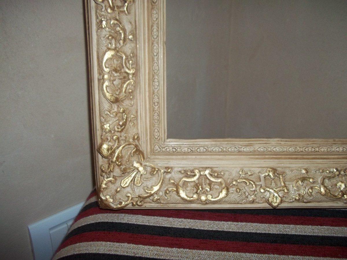 Ideas para pintar el marco de un espejo como pintar un for Marcos de espejos