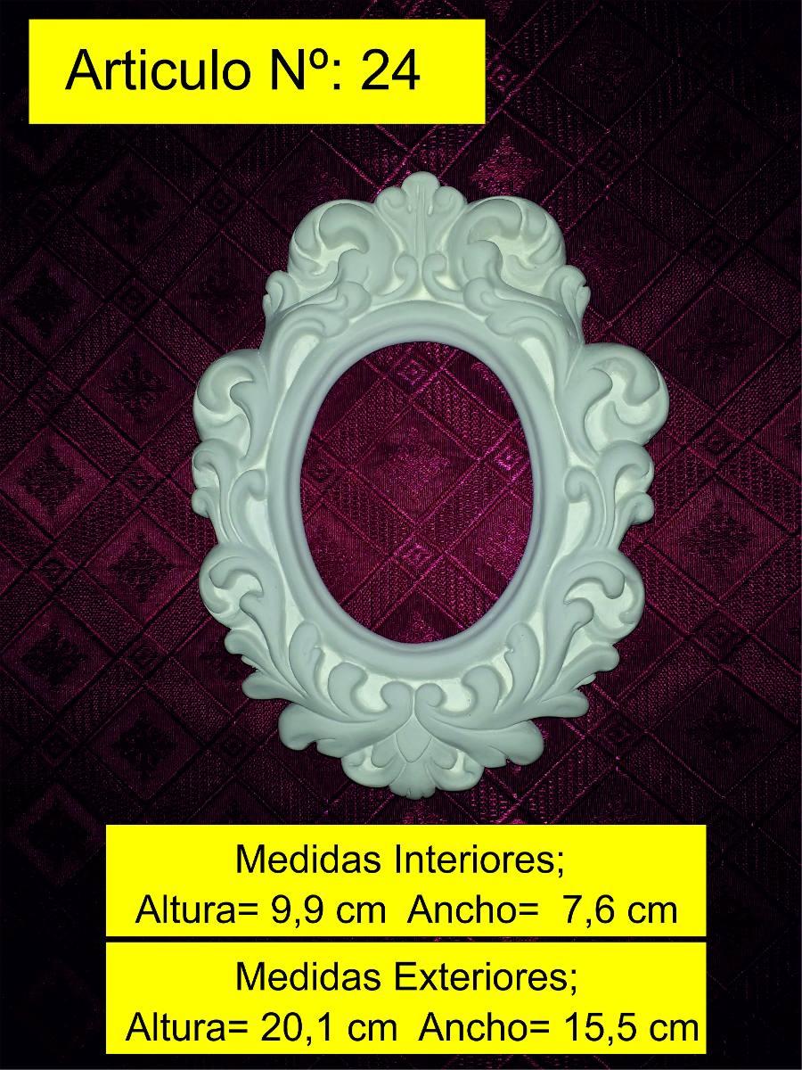 Marco De Yeso Labrado Estilo Antiguo Cuadros Espejos Vintage - $ 108 ...