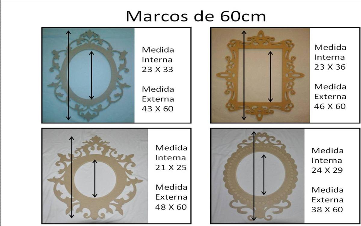 Marco Decorativo De 60cm En Mdf Crudo - Bs. 72.000.000,00 en Mercado ...