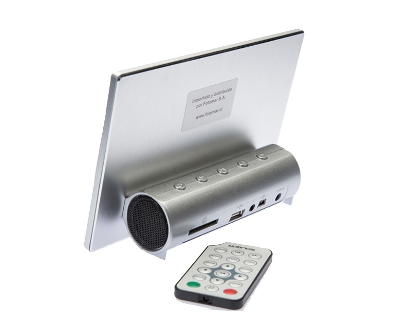 Marco Digital 7 Pulgadas Jpg Mp3 Y Wma - $ 34.990 en Mercado Libre