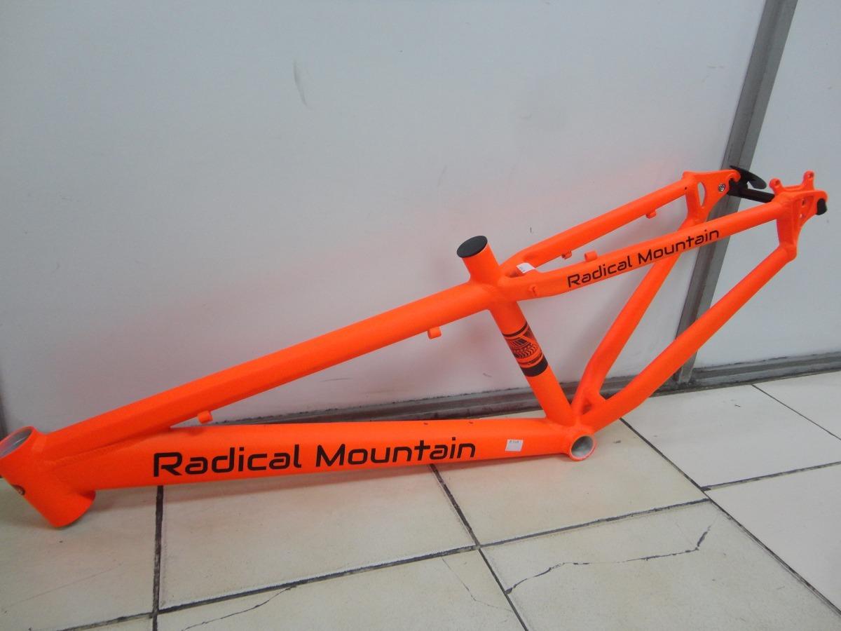 Marco Dirt Radical Mountain Naranjo Neon +partes Envio Grati ...