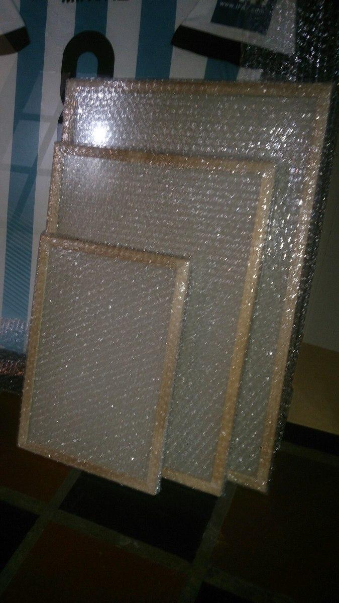 Marco Económico 20x25 Mad 2cm Kiri Natural Vidrio Y Carton - $ 82,00 ...