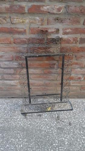 marco espejo hierro forjado