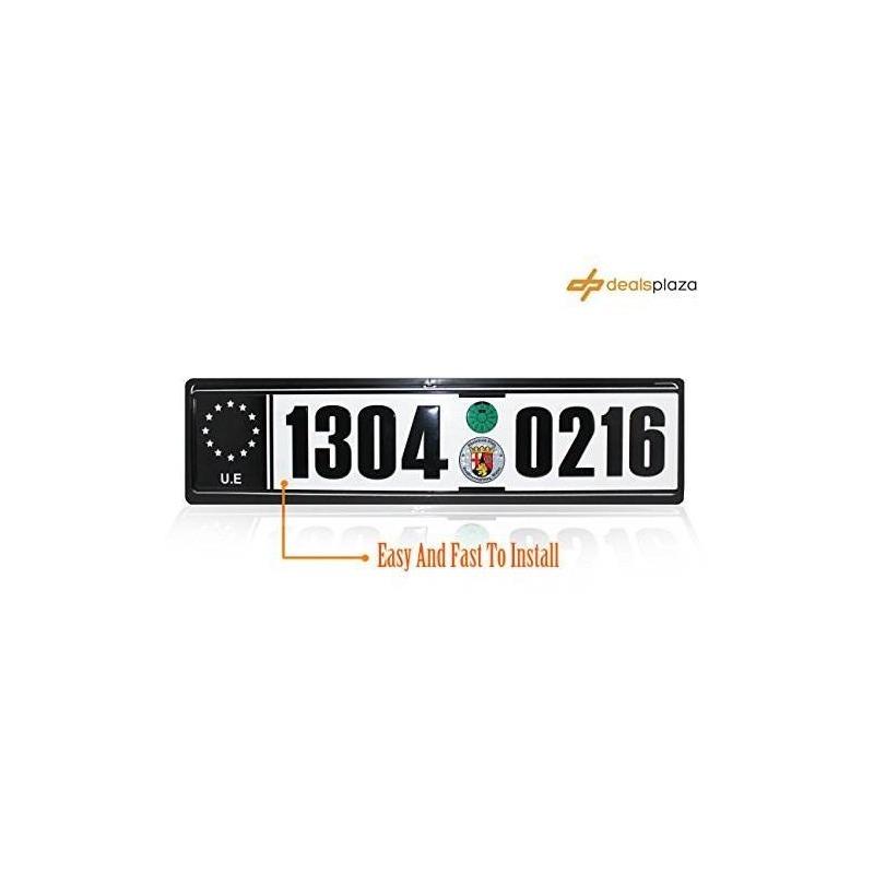Marco Europeo De La Matrícula De La Licencia Del Euro - $ 200.000 en ...