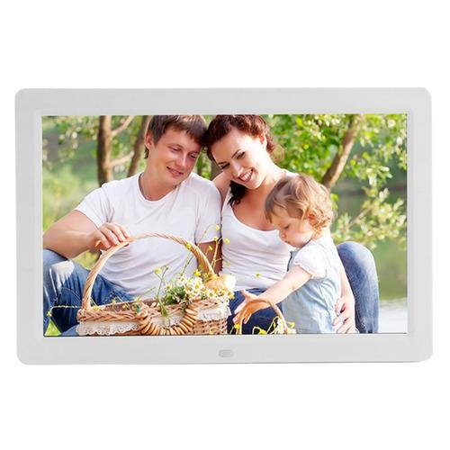 marco foto digital 11  12 pantalla led multi-media blanco