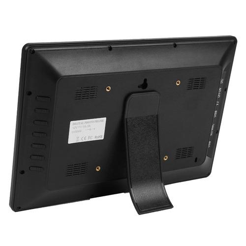marco foto digital 11  12 pantalla led multi-media negro