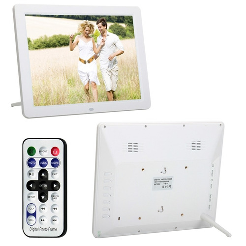 marco foto digital 11  12.0 led pantalla multi-medio blanco