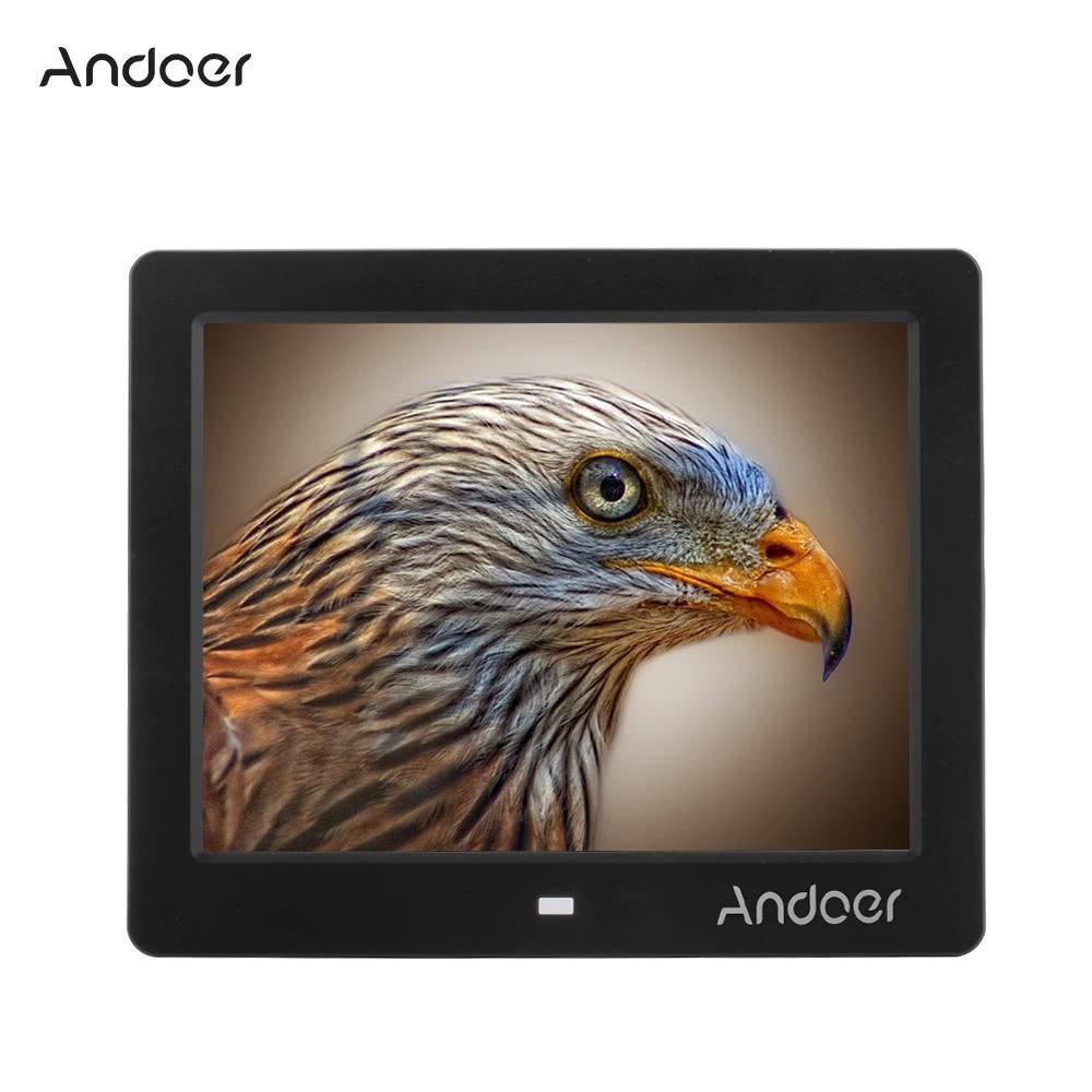 Marco Foto Digital Andoer 8 -inch Lcd Negro De Los Ee.uu. - $ 24.581 ...