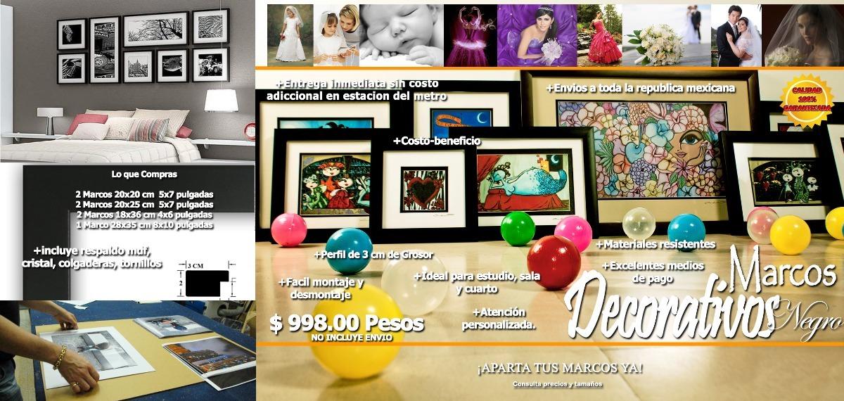 Marco Fotografias Pared Decoracion Porta Retrato - $ 999.00 en ...