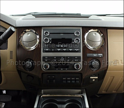 marco frontal de radio ford f250 - f350 super duty 6.2 nuevo