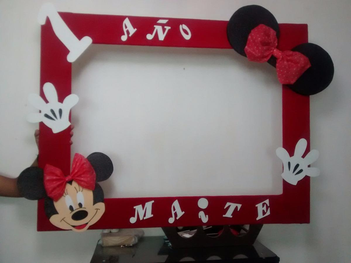 Marco Gigante Para Fiesta Mimi Y Mickey Mouse Cuadro Decorat ...