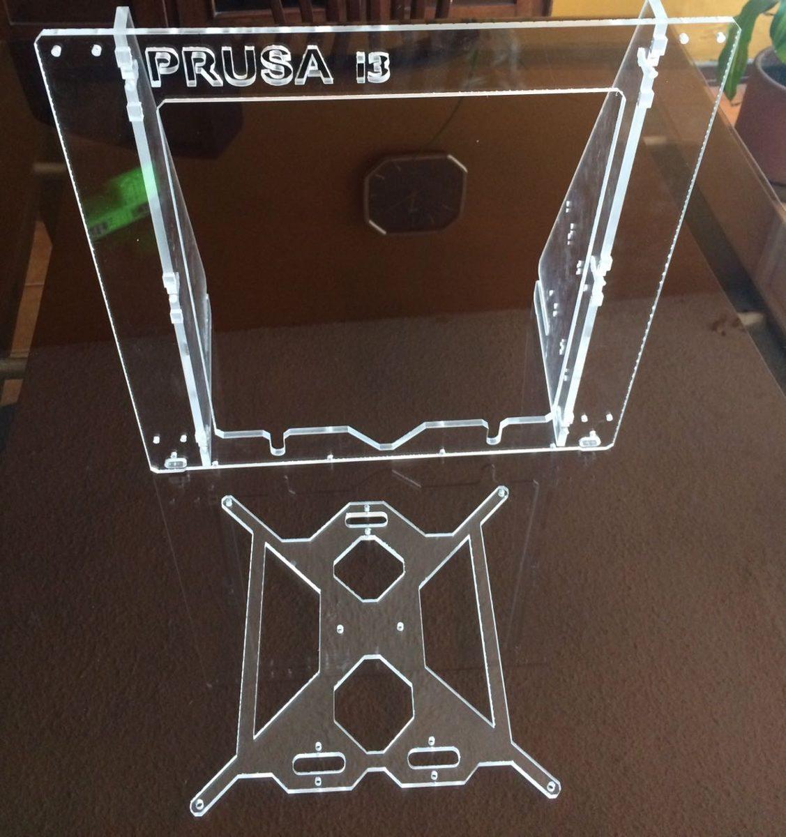 Marco Impresora 3d Estructura Prusa I3 Acrilico 6mm - $ 100.000 en ...