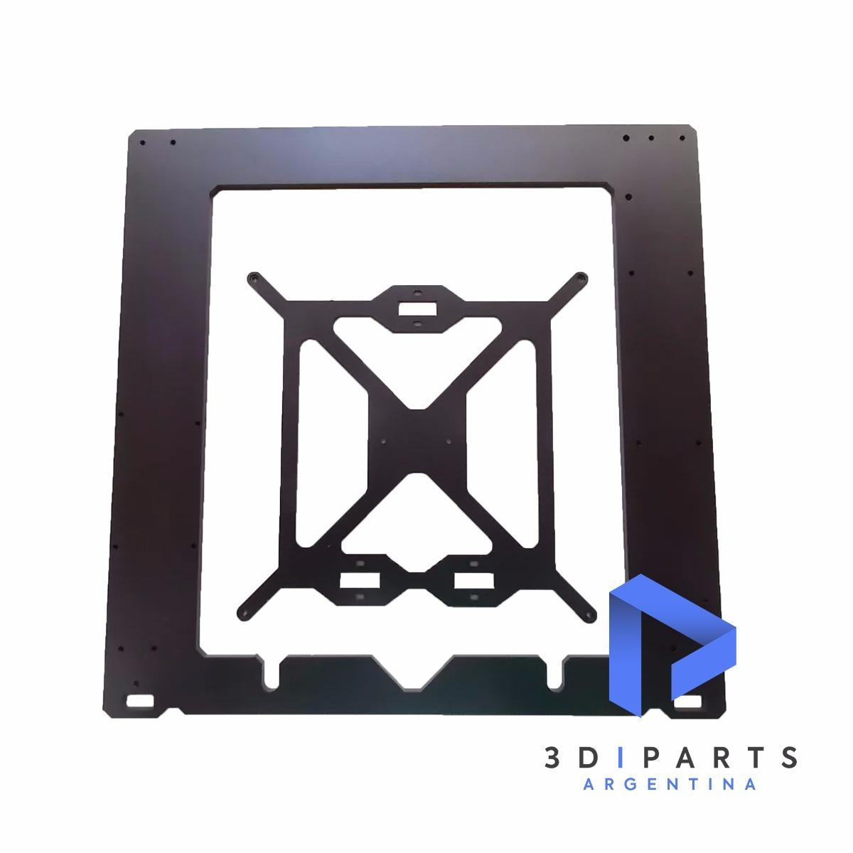 Marco Impresora 3d Prusa Acero 6mm Corte Láser + Porta Cama ...