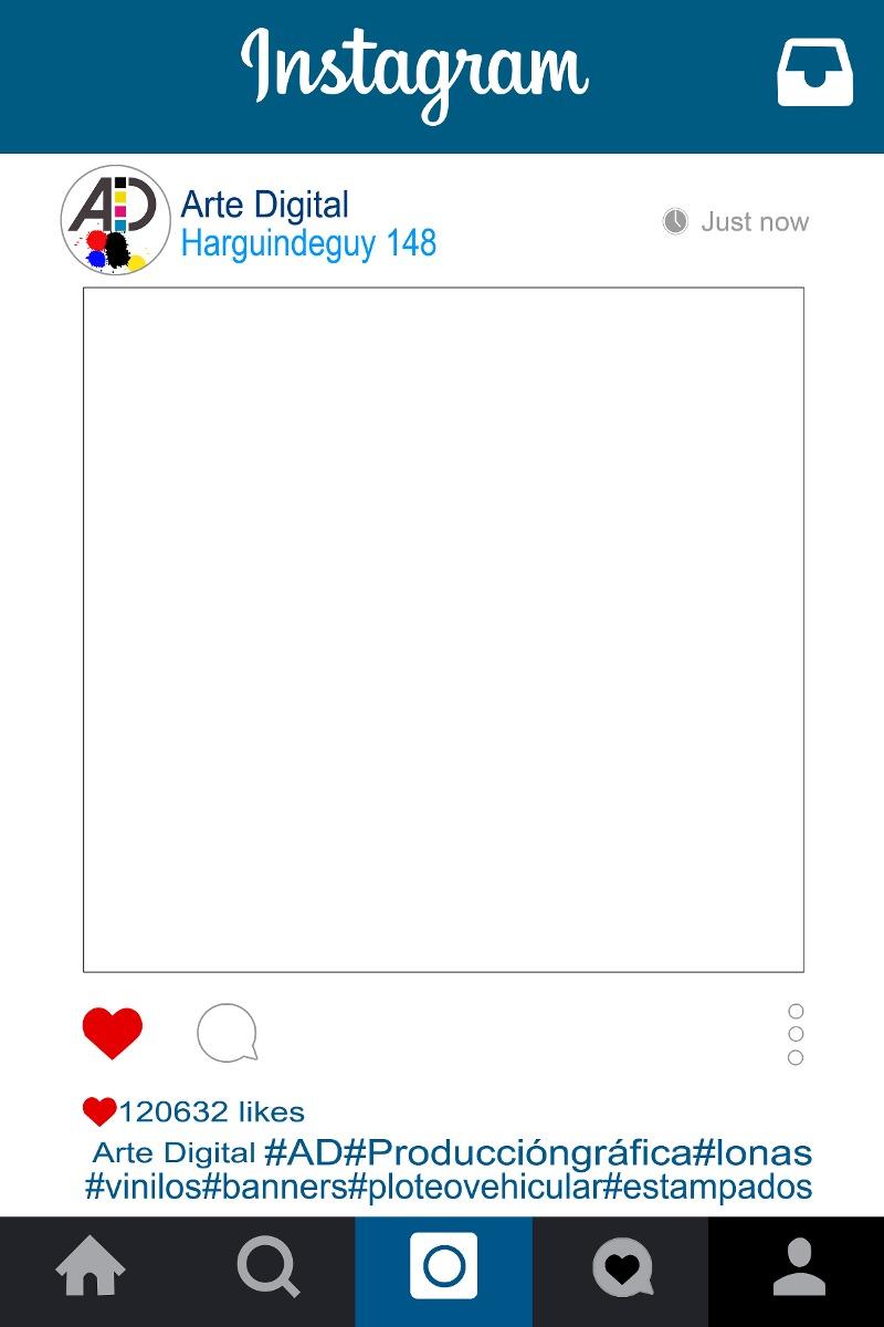Moderno Marco De Fotos Instagram Modelo - Ideas de Arte Enmarcado ...