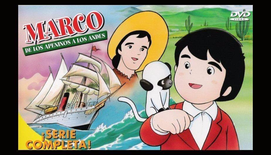 Marco La Serie Animada Completa En Dvd - Bs. 480,00 en Mercado Libre