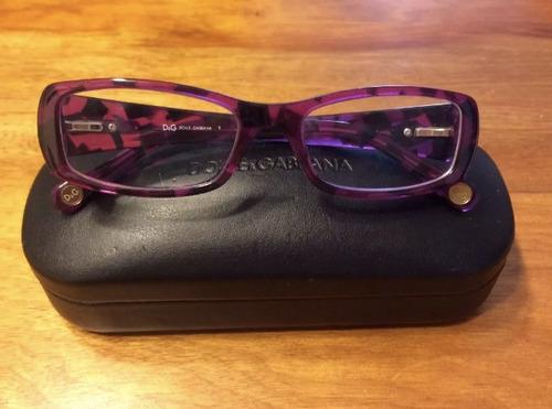 marco lente ópticos dolce & gabbana originales como nuevos