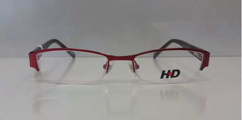 marco lentes / armazon marca hd - hd1422bur mujer