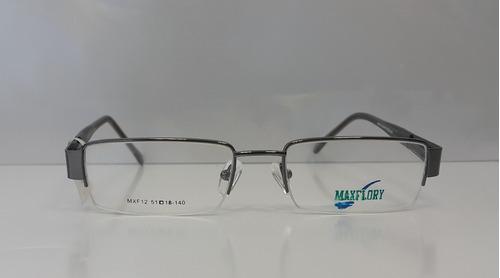 marco lentes / armazon marca maxflory - mxf12 hombre mujer