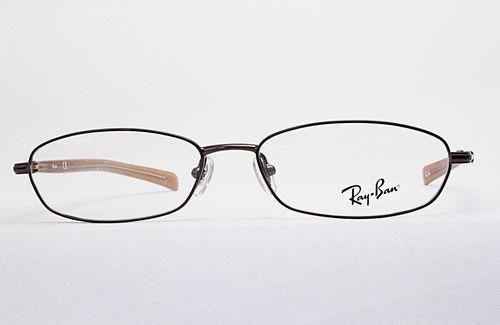 marco lentes opticos armazon ray ban nuevos cafe