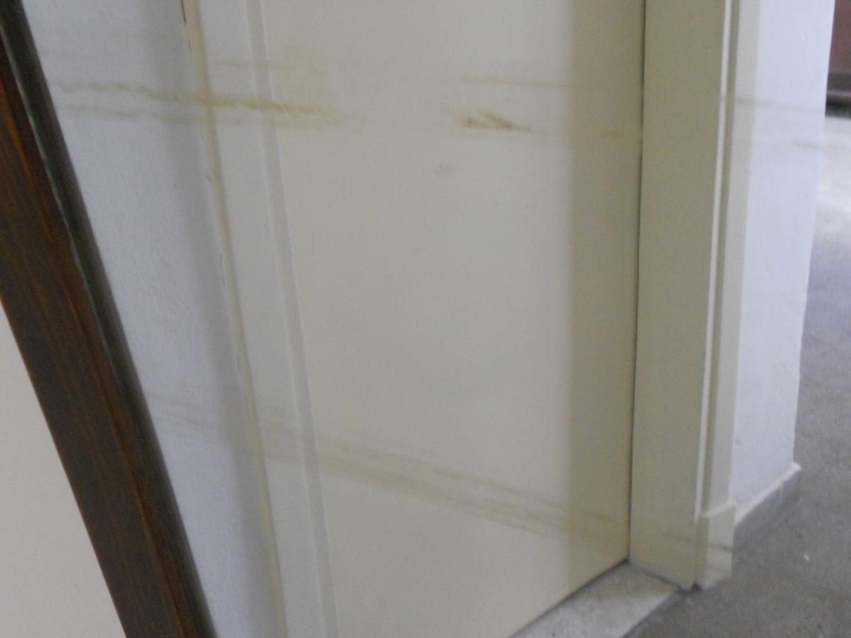 Espejo con marco madera buen estado mide 101cm por 50 for Espejo marco ancho