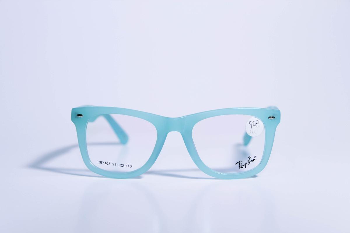 Marco, Montura Para Gafas Ray-ban Rb7163 - $ 170.000 en Mercado Libre