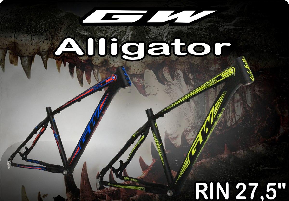 Marco Mtb Aluminio Gw Alligator Rin 27.5 - $ 289.000 en Mercado Libre