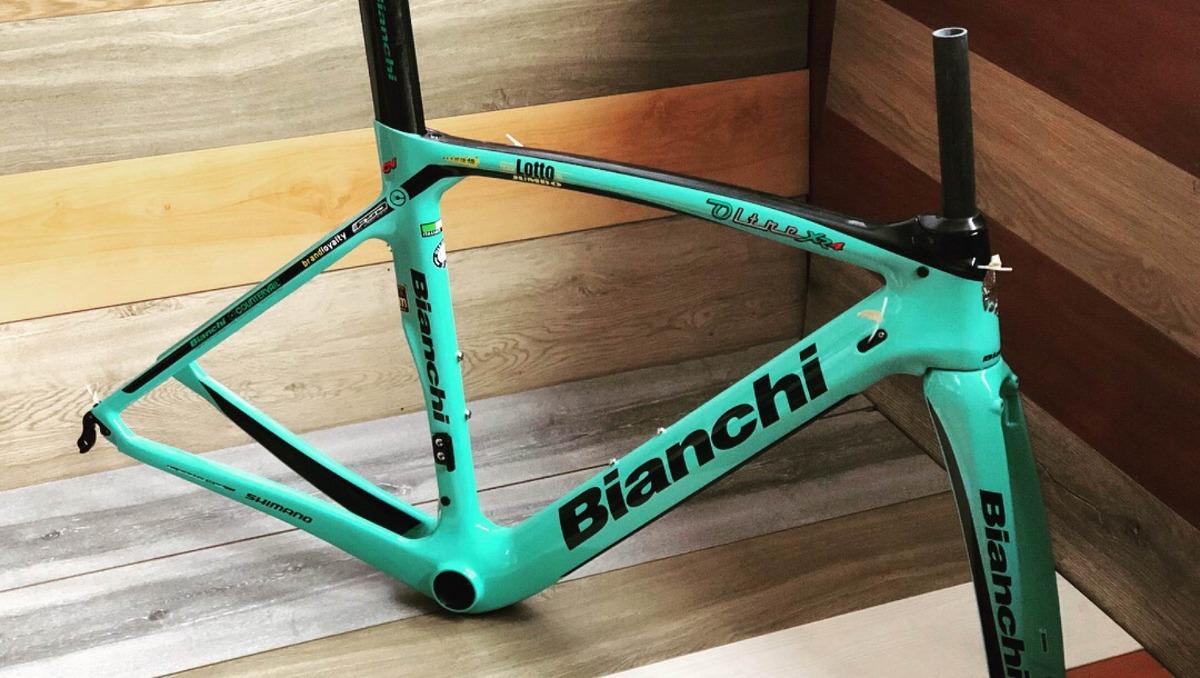 Marco Para Bicicleta De Ruta En Fibra De Carbono - $ 2.900.000 en ...