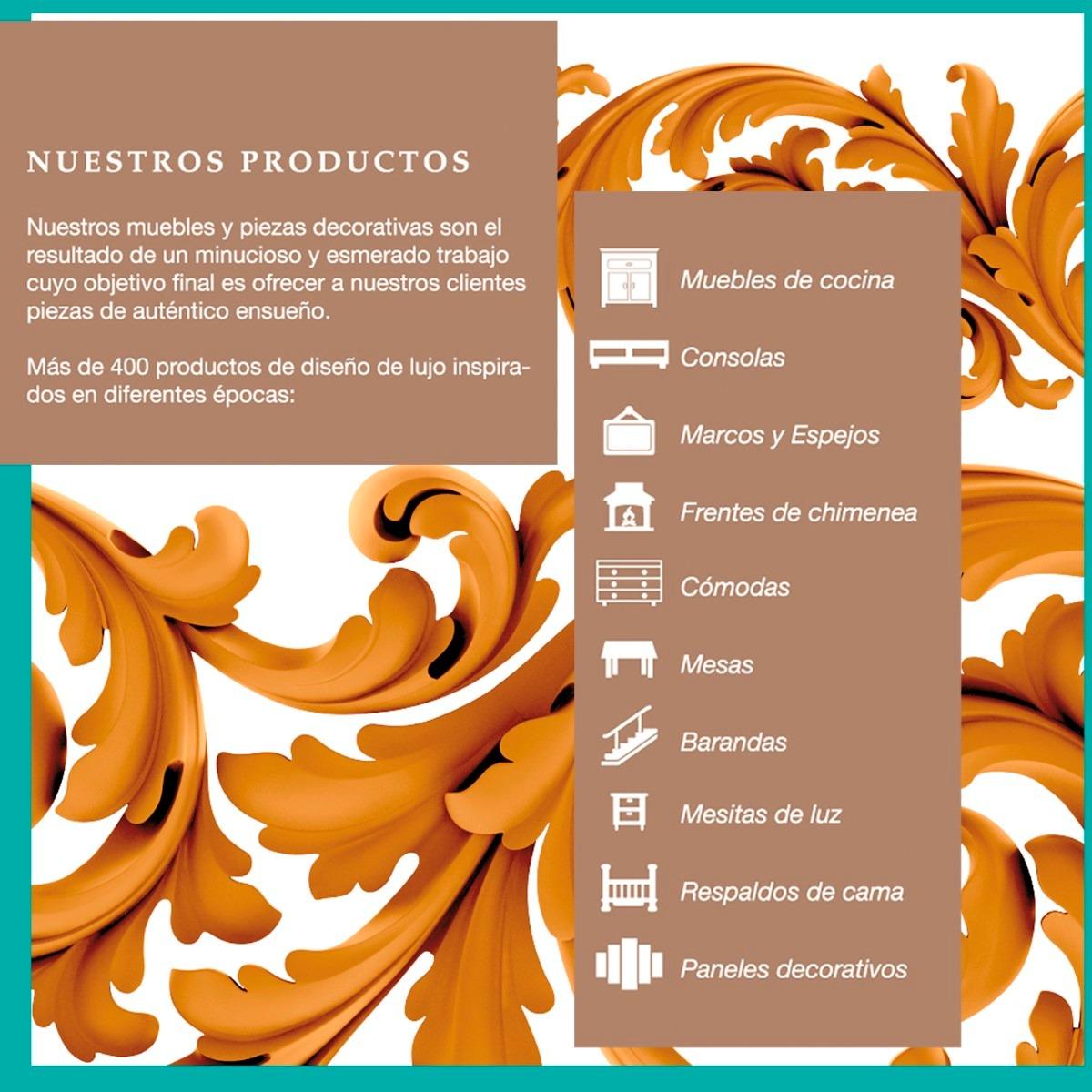 Marco Para Espejo De Mdf De Diseño 90x90 - $ 780,00 en Mercado Libre