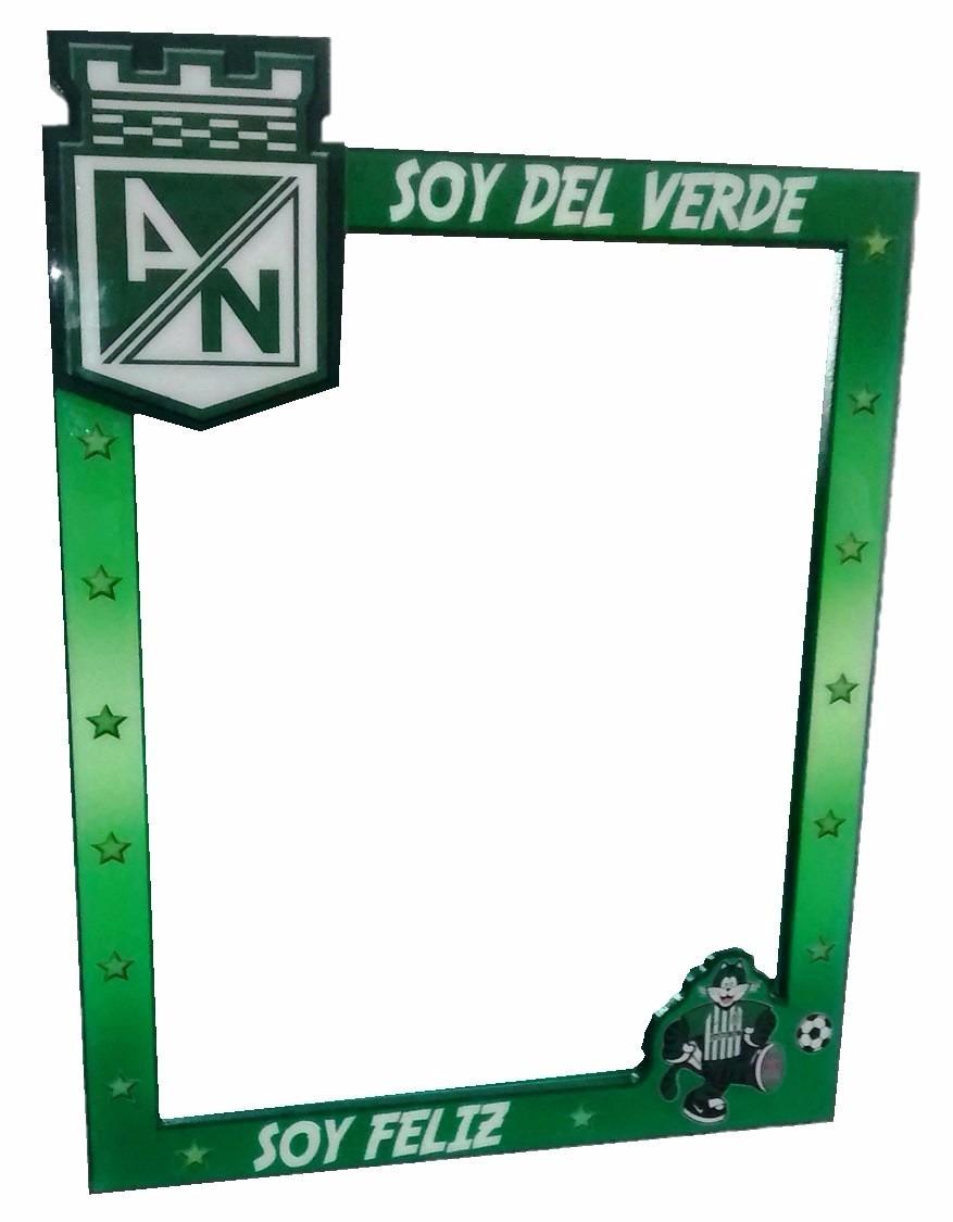 Marco Para Espejo Equipo Deportivo Atlètico Nacional - Verde ...