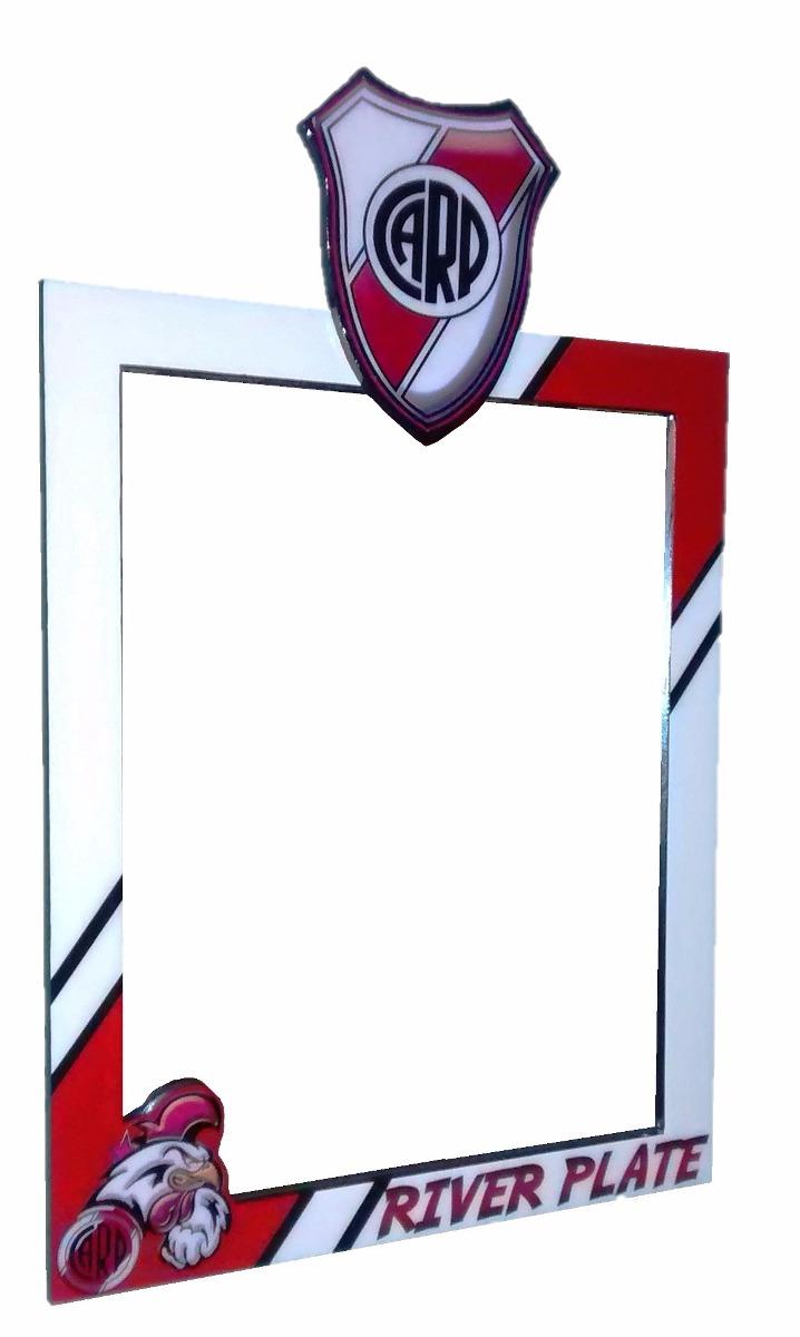 Marco Para Espejo Equipo Deportivo River Plate Diseño Futbol ...