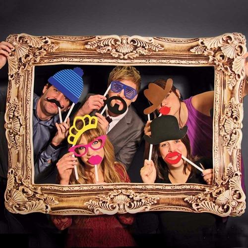 marco para fotografías grupales - selfies - props