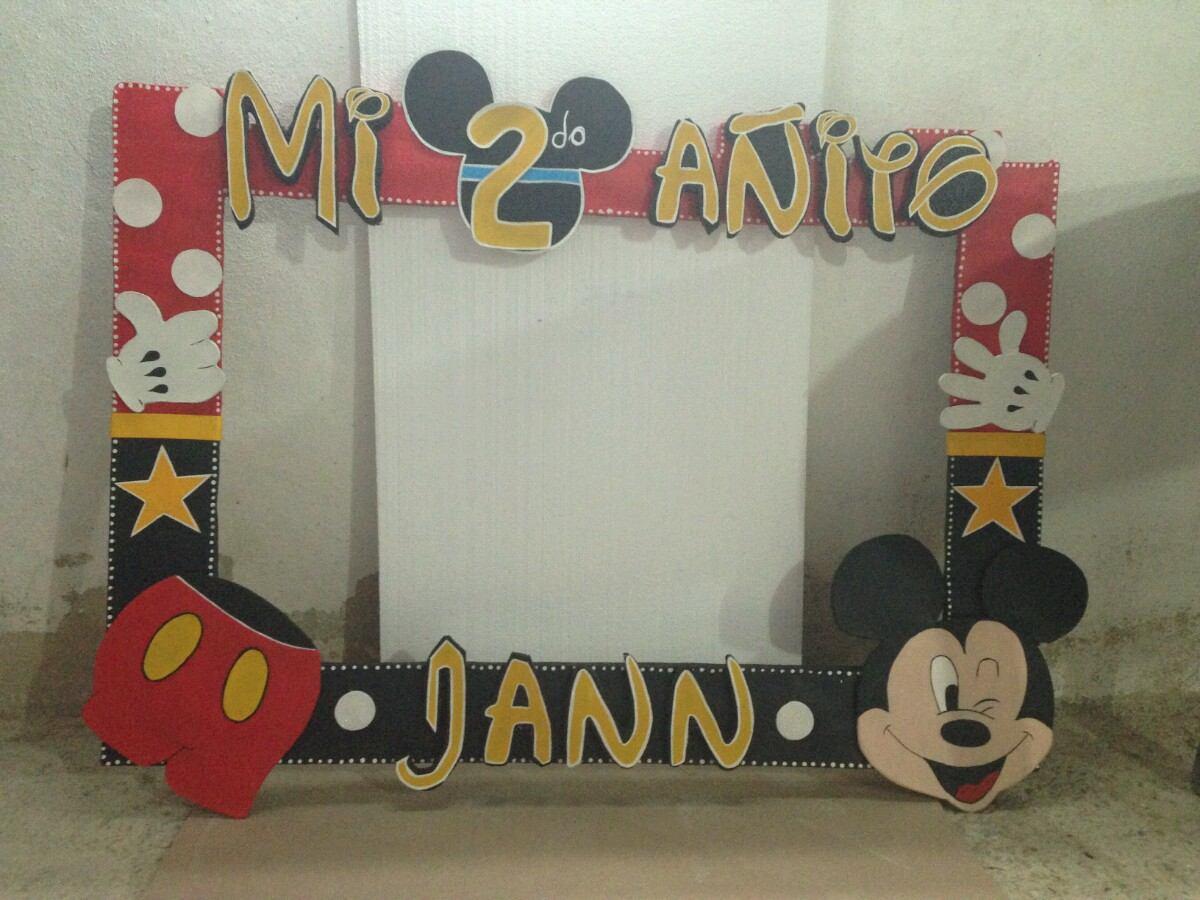 Marco Para Fotos De Fiestas Infantiles Personalizado Bs