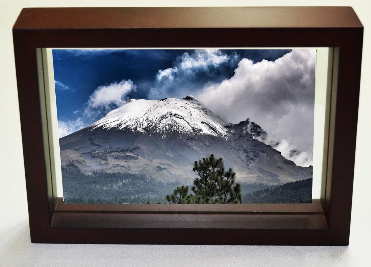 Marco Para Fotos Portaretratos Foto 4x6 O 5x7 Chocolate - $ 99.00 en ...