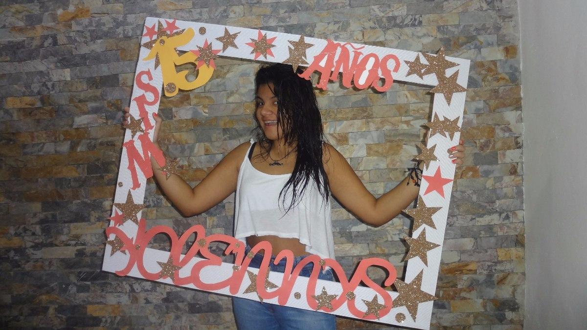 Marco para fotos selfie fiesta hora loca instagram for Fotografia cuadros decoracion