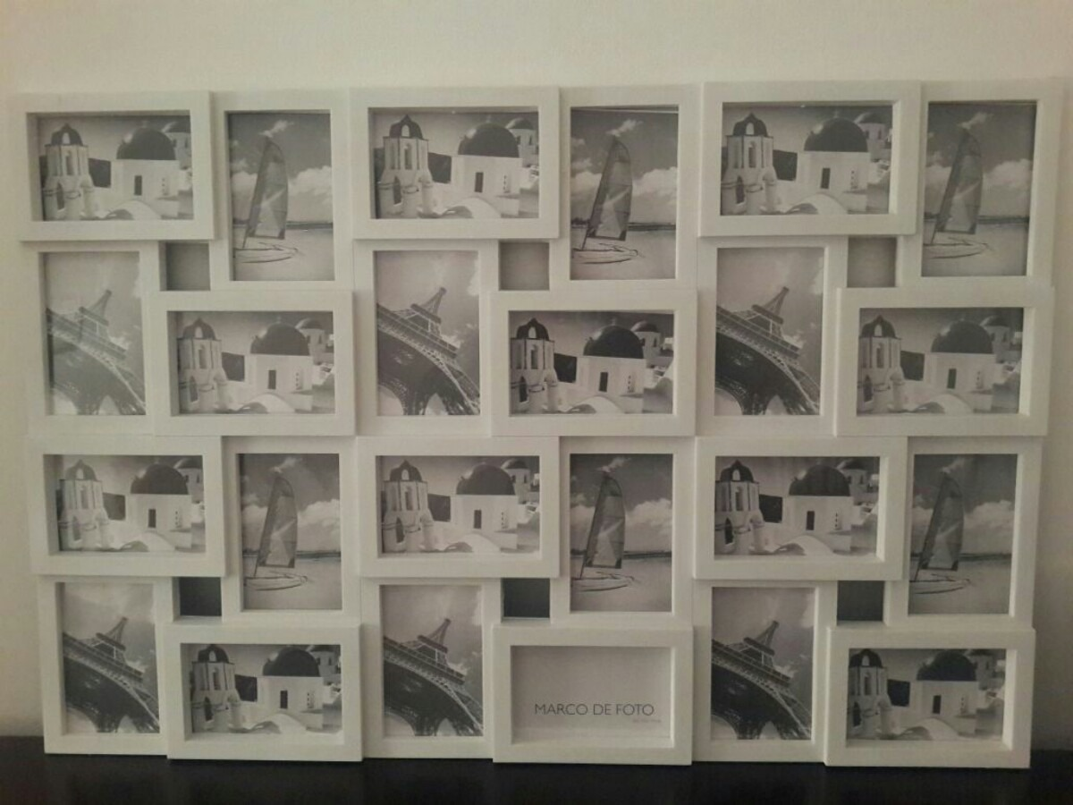 Marco Para Fotos Vintage. Portaretrato Multiple. - $ 986,00 en ...