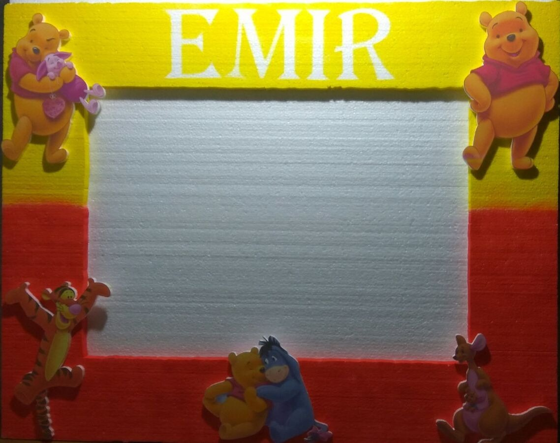 Contemporáneo Marco De Imagen Pooh Regalo - Ideas de Arte Enmarcado ...