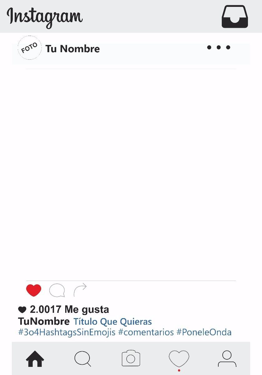 Marco Para Fotos Y Fiestas Instagram Y Otros Modelos - $ 389,00 en ...