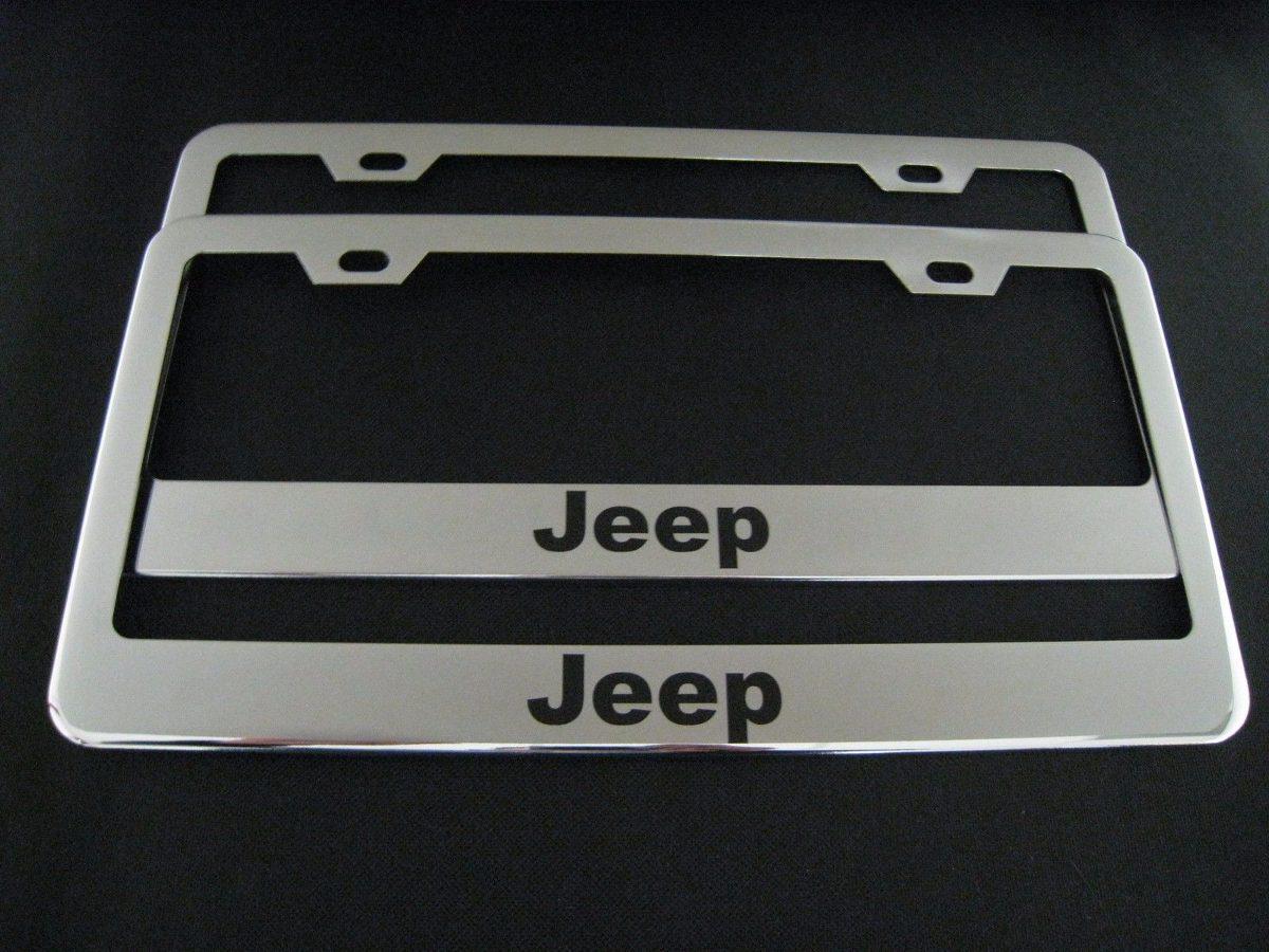 Vistoso Marco Jeep Acero Inoxidable Patrón - Ideas Personalizadas de ...