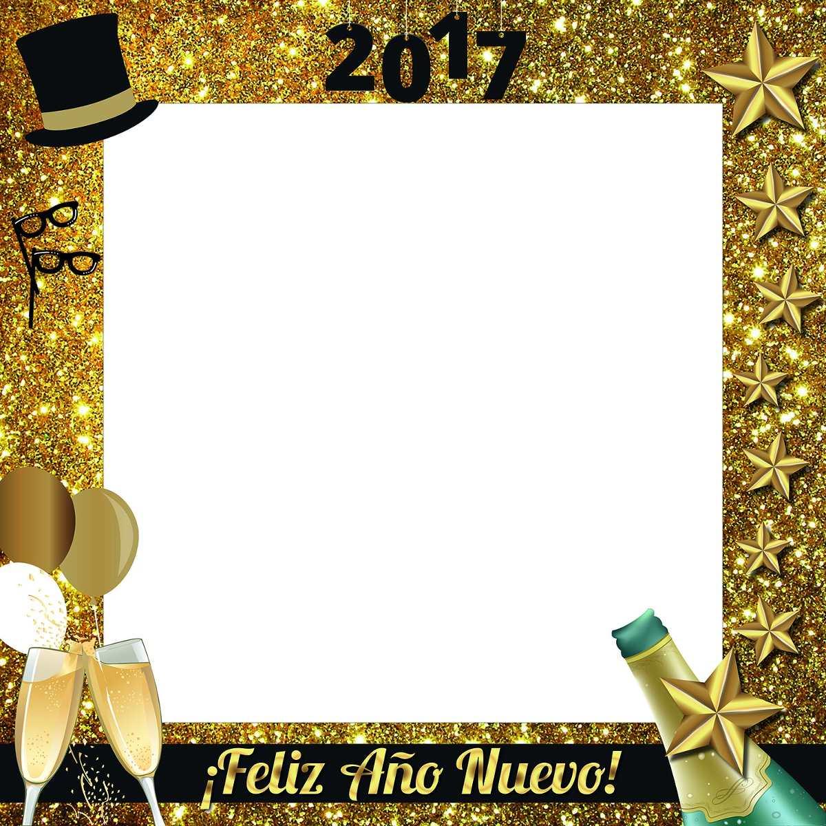 Único Feliz Año Nuevo Marco Galería - Ideas Personalizadas de Marco ...