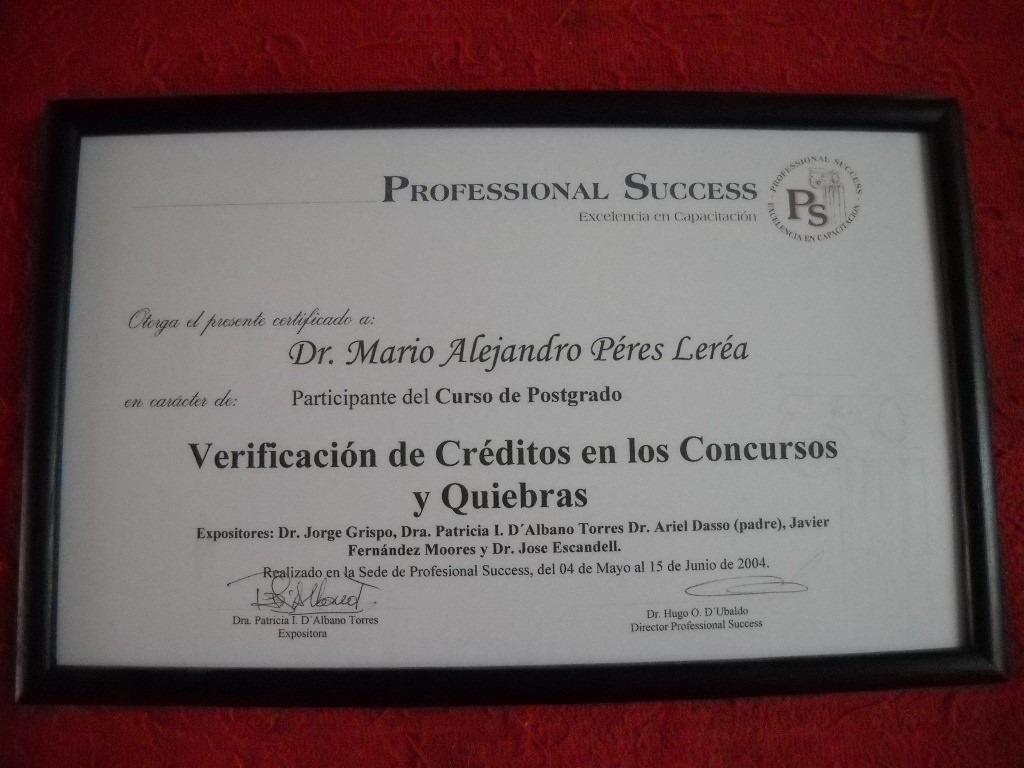 Marco Para Titulo Universitario - $ 350,00 en Mercado Libre