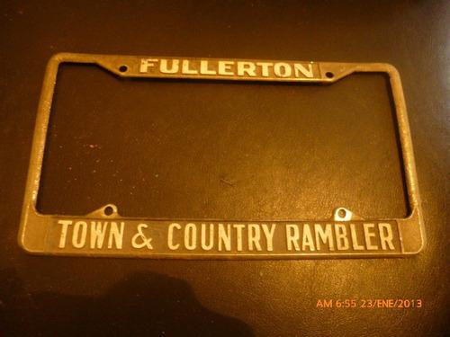 marco patente u.s.a.   town country rambler fullerton