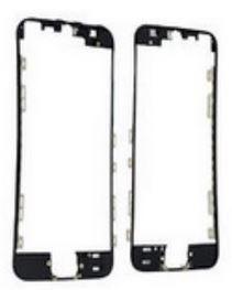 marco plastico de pantalla middleframe negro iphone 5s
