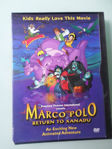 marco polo - return to xanadu dvd en español,2004, importado